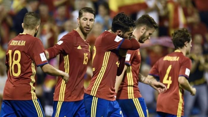 Испания гарантировала себе выход на ЧМ