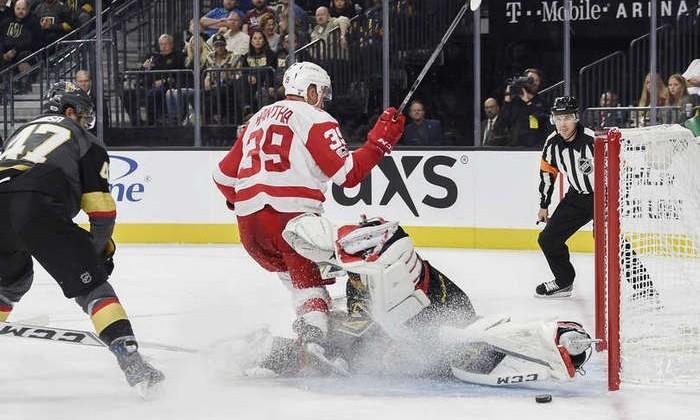 Шипачёв забросил шайбу вдебютном матче НХЛ за«Вегас»