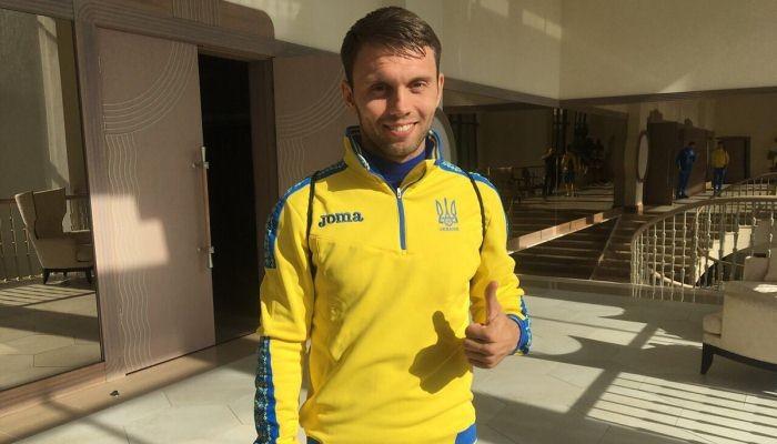 Травмированного Богдана Бутко всборной Украины поменял Александр Караваев