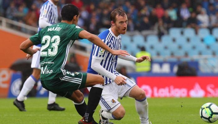 В невозможном матче «Реал Сосьедад» и«Бетис» забили восемь мячей надвоих