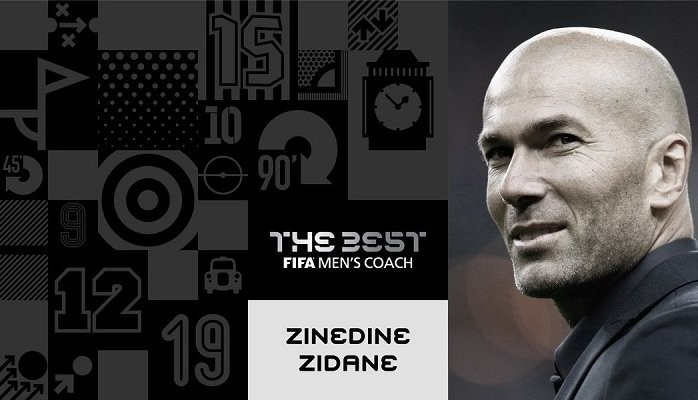 Роналду— лучший футболист, Зидан— лучший тренер. FIFA показала результаты сезона