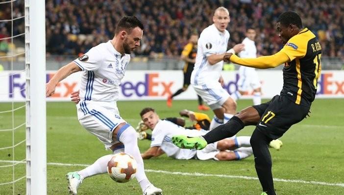 Динамо Киев не смогло дома обыграть Янг Бойз