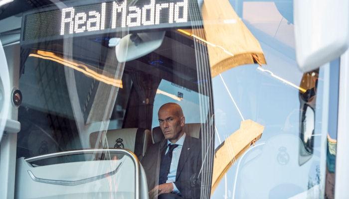 «Реал» вЖироне небудет использовать автобус ссимволикой клуба