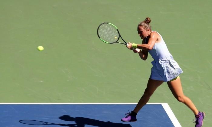 Украинские теннисистки синхронно провалились в КНР