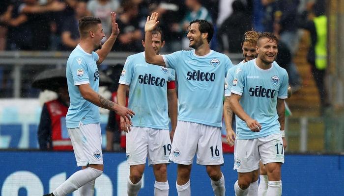 Лацио забил 6 голов Сассуоло, пропустив первым