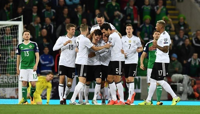 Германия обыграла Северную Ирландию ивышла начемпионат мира