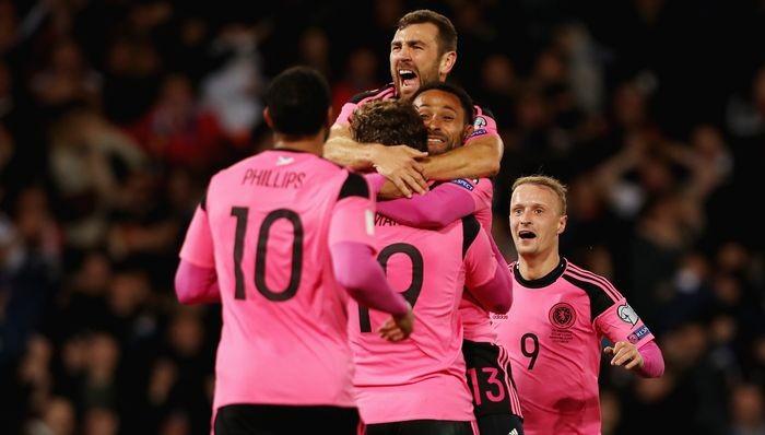 Шотландия оказалась сильнее Словакии