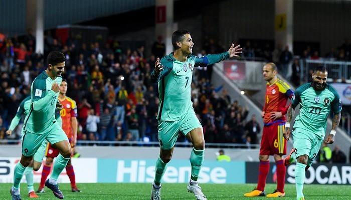 Португалия добыла непростую победу над Андоррой