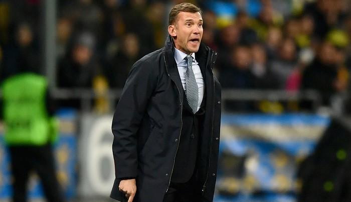ФФУ непланирует увольнять основного  тренера сборной Украины Шевченко