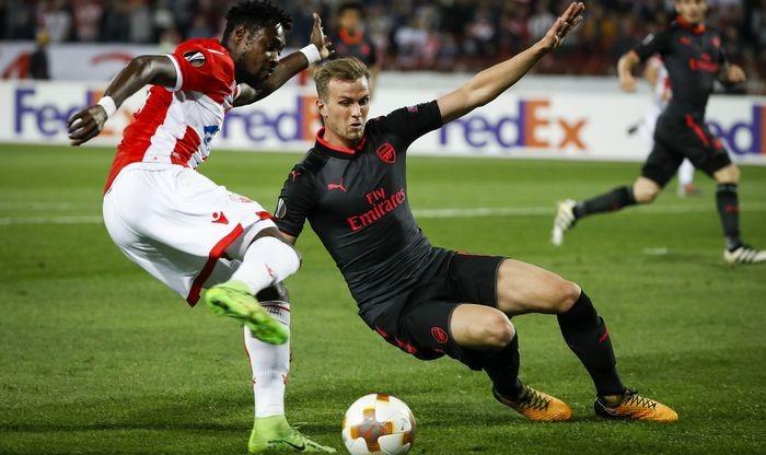 Арсенал добыл минимальную победу в Белграде