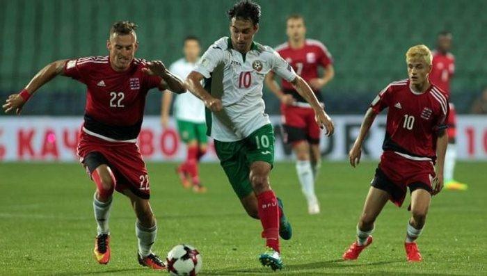 Болгария завершила отбор на ЧМ ничьей в Люксембурге