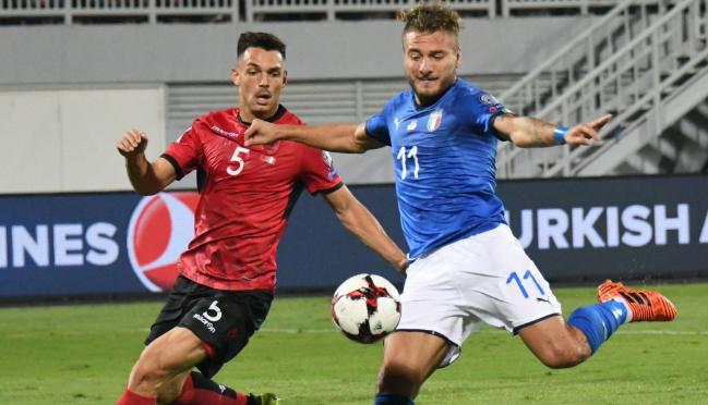 Италии хватило одного гола для победы в Албании