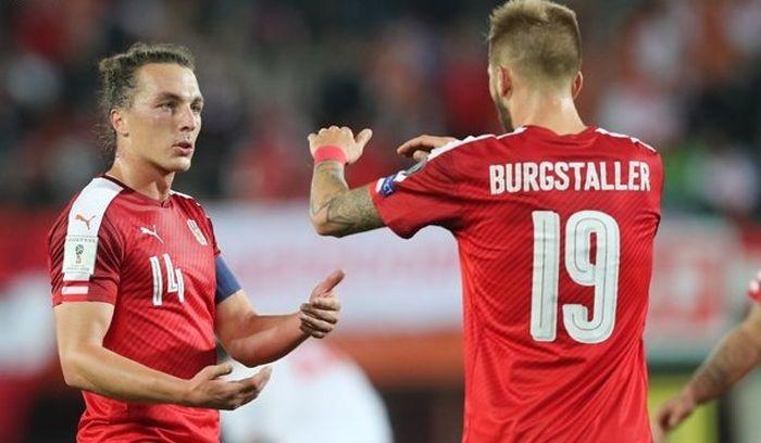 Австрия драматично переиграла Сербию
