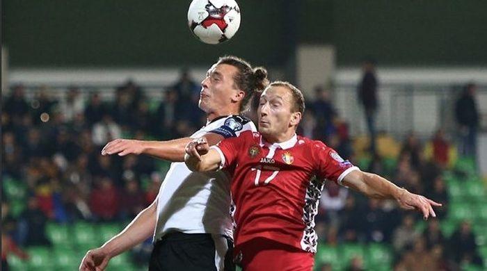 Австрия минимально одолела Молдову