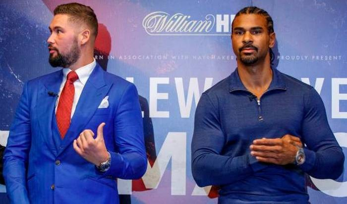 Дэвид Хэй и Тони Беллью, boxingscene.com