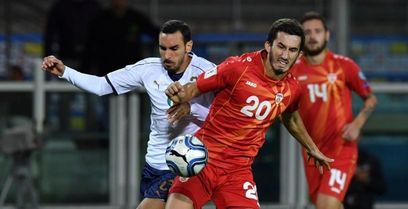 Италия сыграла вничью с Македонией