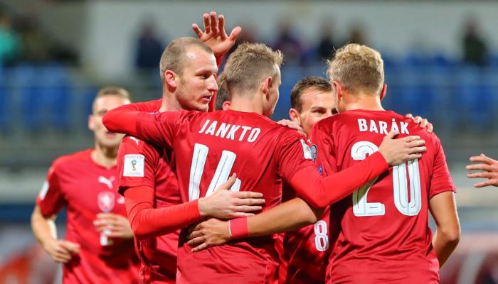 Чехия забила пять безответных мячей в ворота Сан-Марино