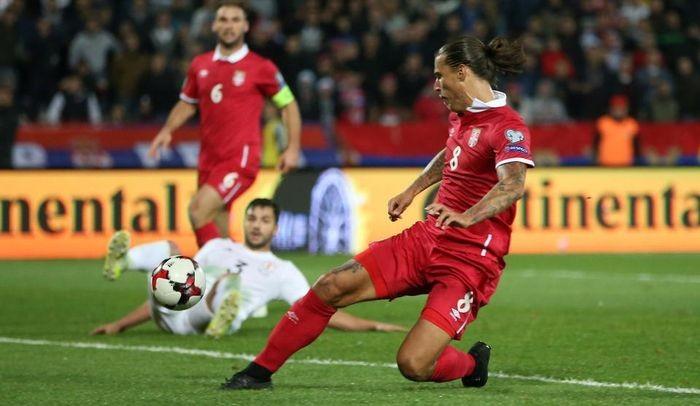 Сербия вышла на ЧМ с первого места