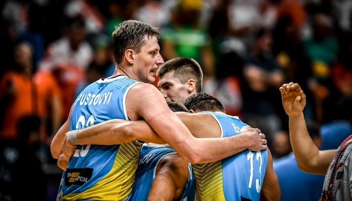 Сборная Украины поднялась на19 позиций рейтинга ФИБА