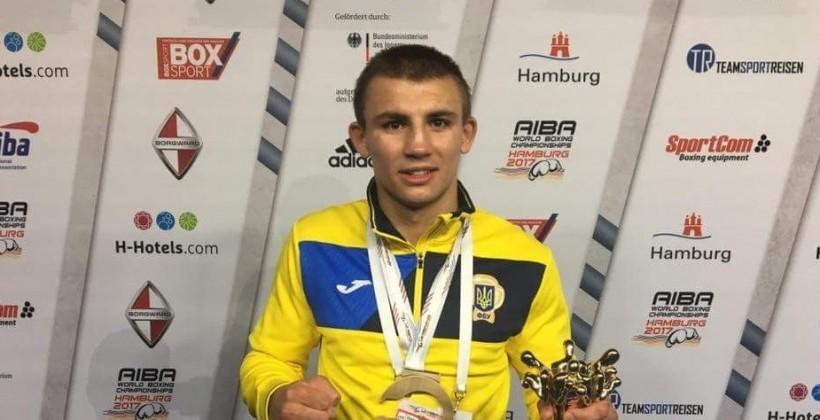 Боксер Хижняк— спортсмен месяца вУкраинском государстве