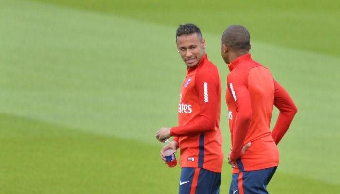 Мбаппе и Неймар вернулись в общую группу ПСЖ перед матчем с Ливерпулем