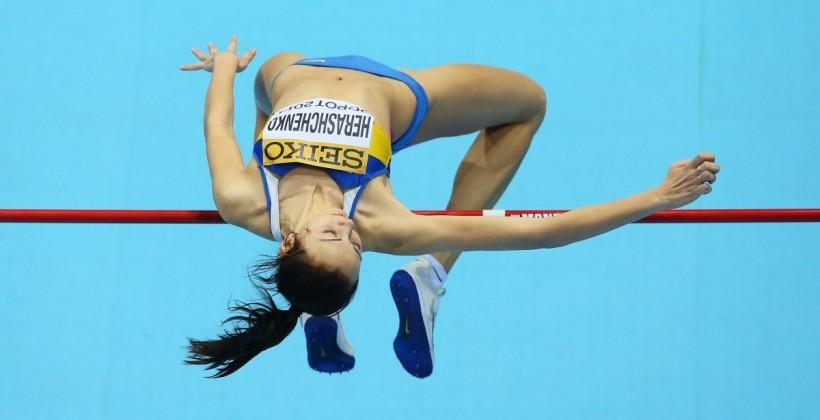 Геращенко завоевала серебро в прыжках в высоту на этапе Золотого континентального тура в Польше