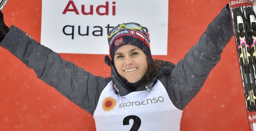 Венг — двукратная победительница Тур де Ски