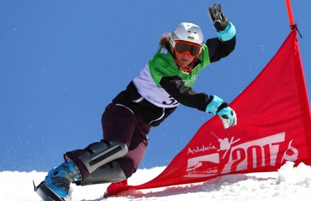 Українська сноубордистка Данча виграла золото слалому на етапі Кубка Європи