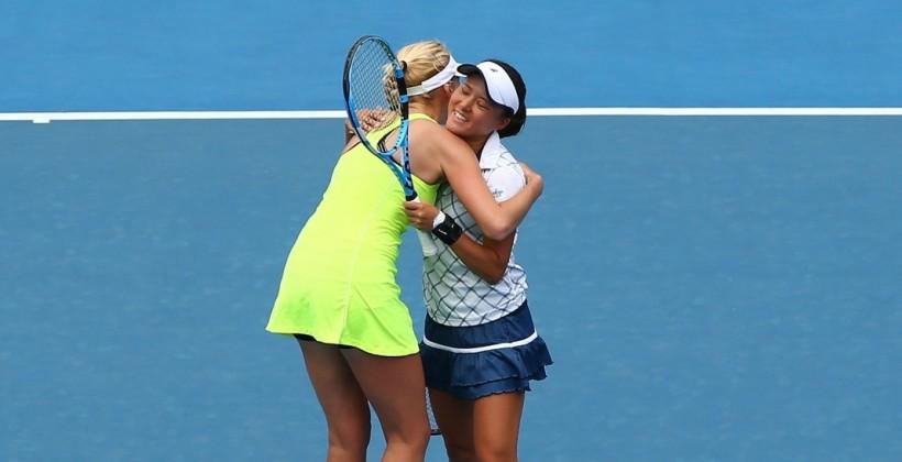 Людмила Кіченок і Ніномія вийшли до фіналу парного турніру в Ноттінгемі після неявки суперниць
