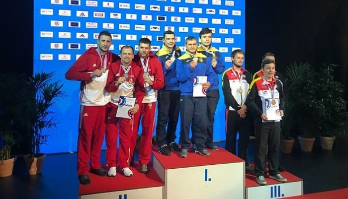 Украинские стрелки выиграли чемпионат Европы