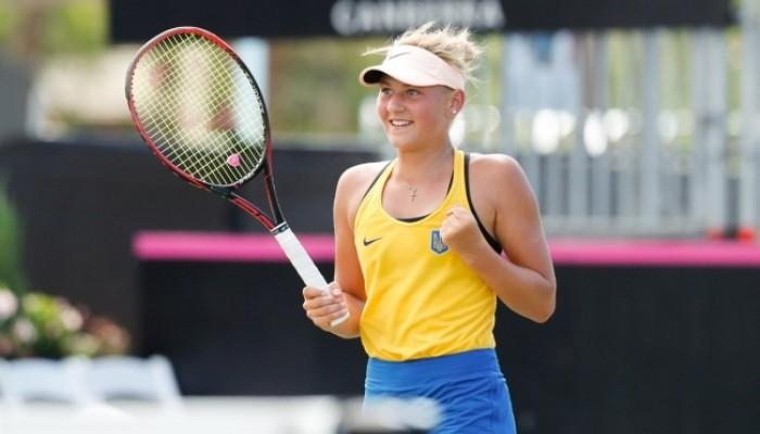 Костюк стала самой юной дебютанткой в истории сборной Украины