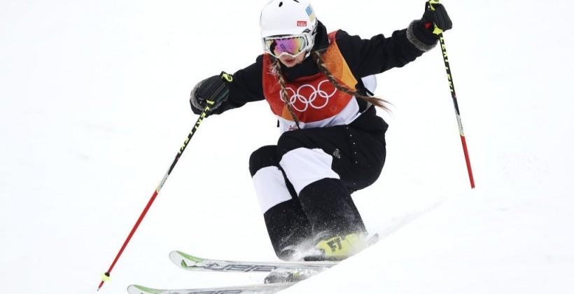 Украинка Петрова финишировала предпоследней в первой квалификации в могуле на Олимпиаде