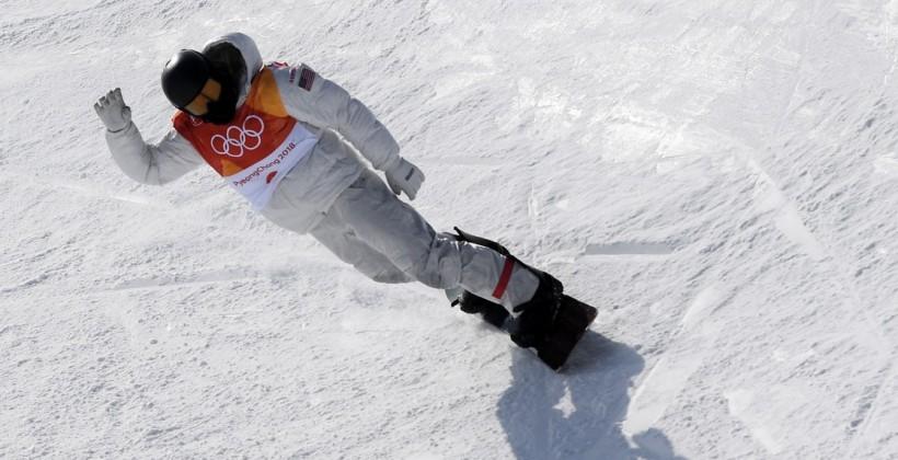Уайт — трехкратный олимпийский чемпион в хафпайпе