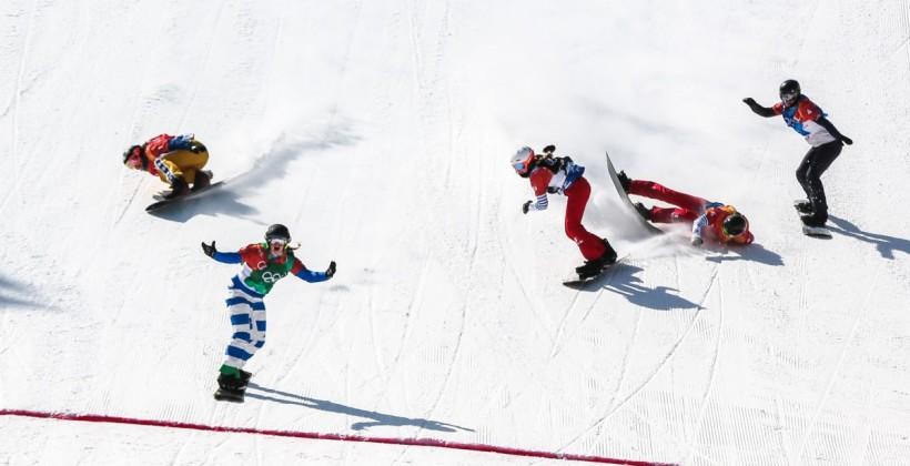 Итальянка Мойоли — олимпийская чемпионка в сноуборд-кроссе