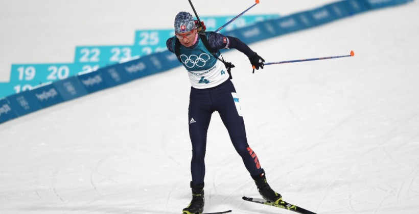 Кузьмина — олимпийская чемпионка в масс-старте, сестры Семеренко снова провалились