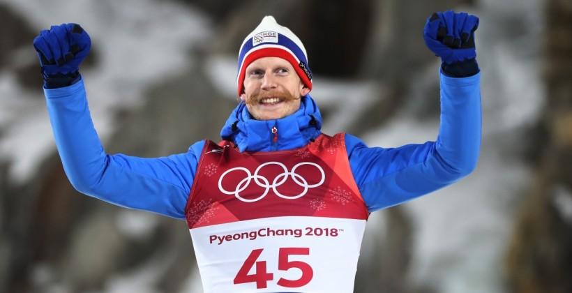 Норвегия впервые выиграла командный олимпийский турнир в прыжках