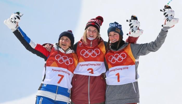Канадка Шарп завоевала золото в ски-хафпайпе