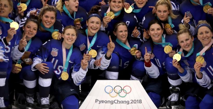 США выиграла женский хоккейный турнир на Олимпиаде