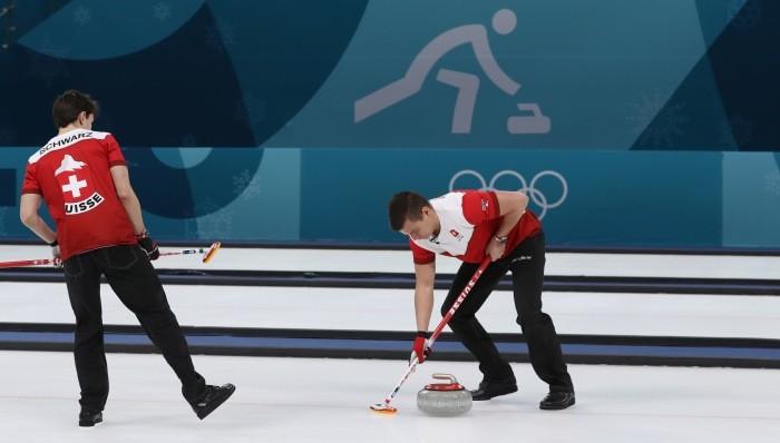 Мужская сборная Швейцарии выиграла матч за бронзу Пхенчхана