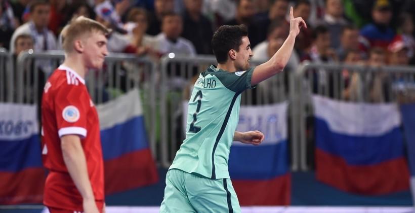 Волевая победа над Россией вывела Португалию в финал футзального Евро
