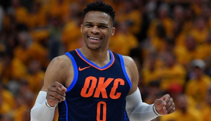 Уэстбрук Оклахома НБА