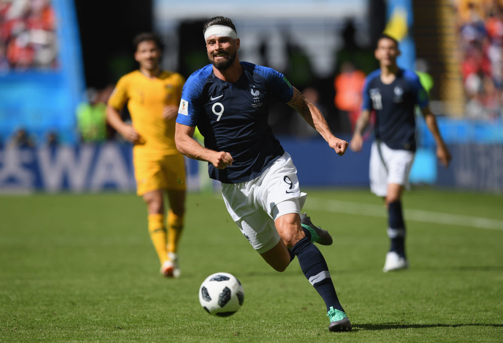 Жиру голова чемпионат мира Франция футбол