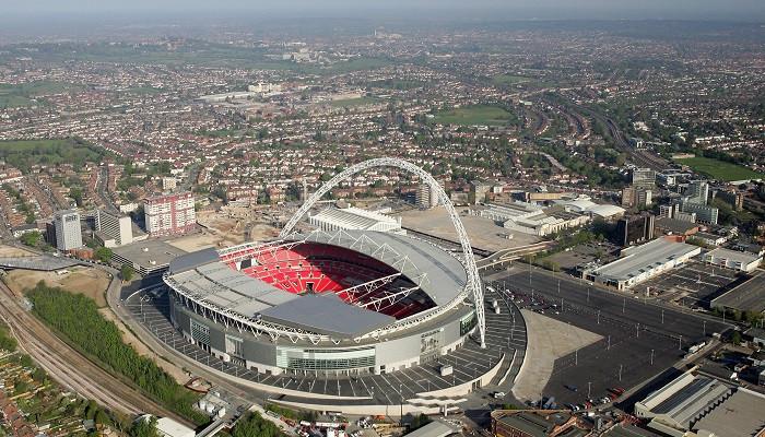 Сборная Англии провела свой 300-й матч на Уэмбли