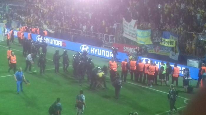 Восьмерых фанатов сборной Украины арестовали в Чехии