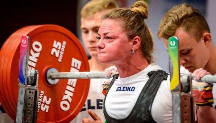 Украинка Мельник установила мировой рекорд в жиме лежа