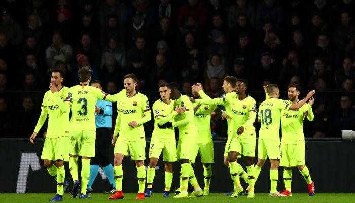 Их уже 12. Атлетико, Барселона и еще три команды вышли в плей-офф ЛЧ