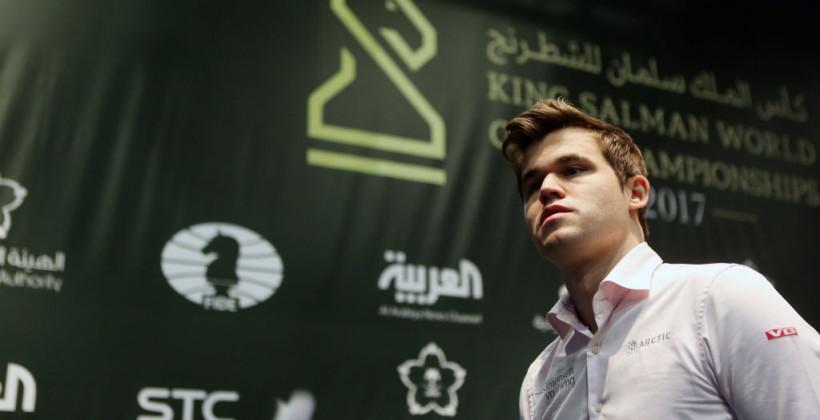 Карлсен выиграл международный онлайн-турнир по шахматам