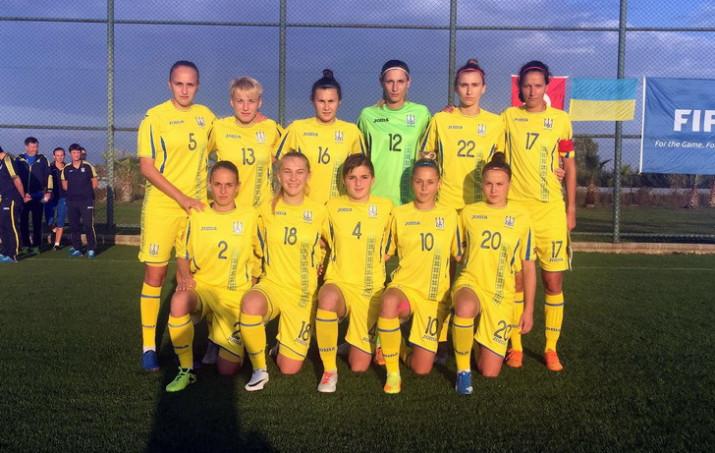 Женская сборная Украины фубол