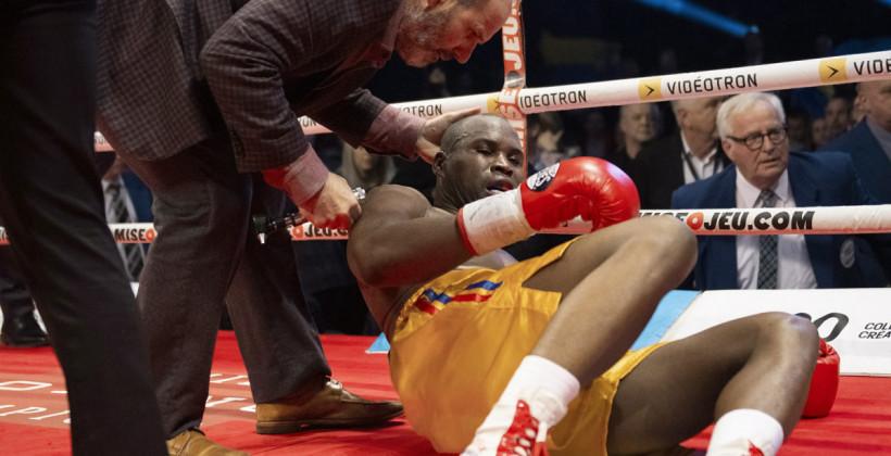 Стивенсон впервые открыл глаза после боя с Гвоздиком