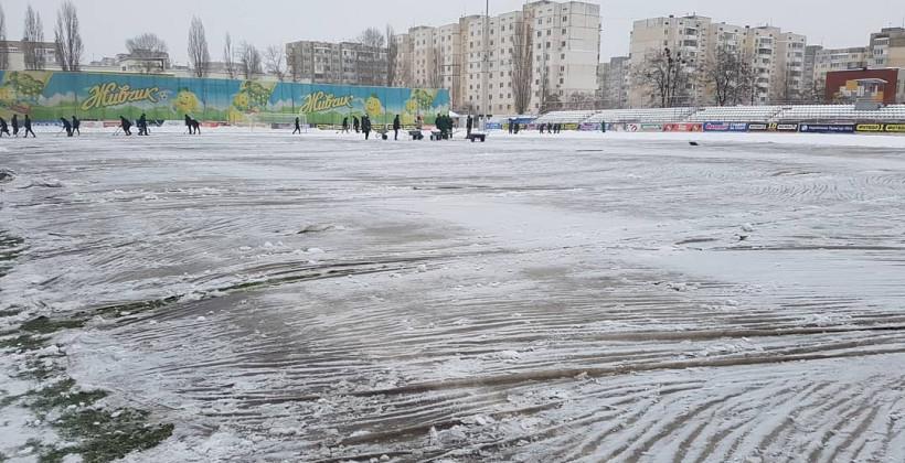 Матч Десна — Заря начался в 15:00